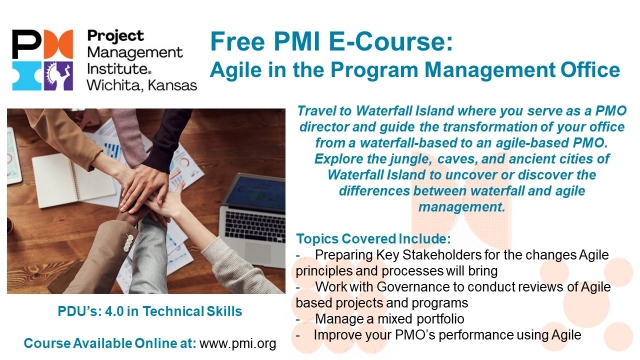 Agile in the PMO E Course