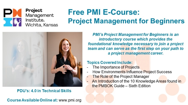 Project Management for Beginners E Course